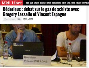 Bédarieux débat sur le gaz de schiste avec Gregory Lassalle et Vincent Espagne_2017-02-09_16-13-25