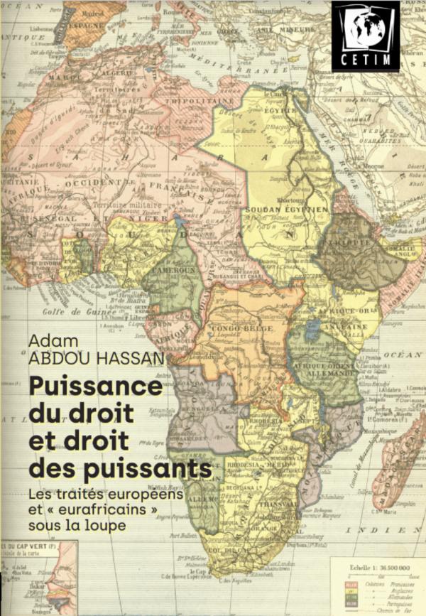 Couverture livre Eurafrique