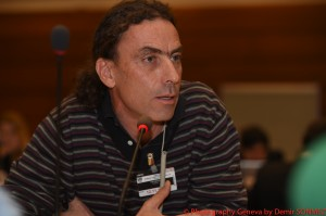 Federico Pacheco during the informal consultations in November 2014
