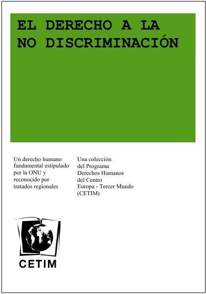 Derecho a la no-discriminaciòn