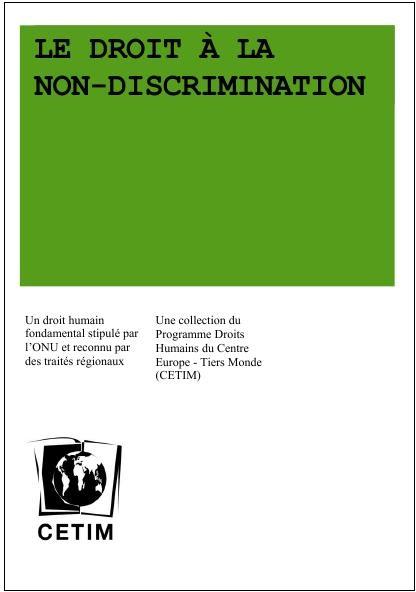 Droit à la non-discrimination