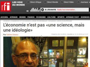 L'économie n'est pas «une science, mais une idéologie» - Hebdo - RFI - Mozilla F_2017-02-09_17-21-59