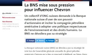 La BNS mise sous pression pourinfluencerChevron - Le Temps - Google Chrome_2017-05-30_14-55-00