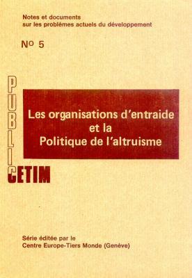Les organisation d'entraide et l'altruisme