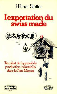 L'exportation du Suisse made