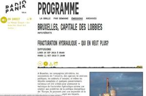 Radio Panik - Fracturation hydraulique - Qui en veut plus - Bruxelles, capitale_2016-11-16_15-27-25