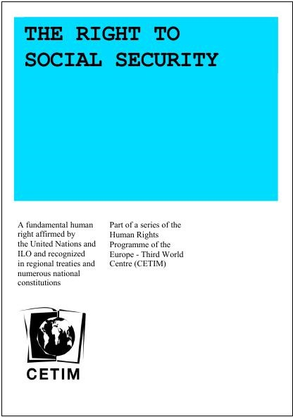Right to social security