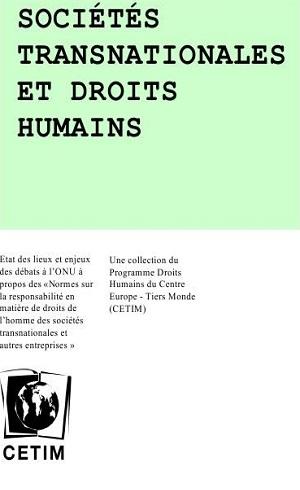 Sociétés transnationales et droits humains
