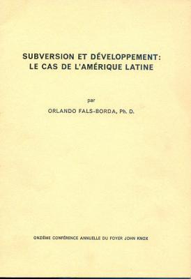 Subversion et développement